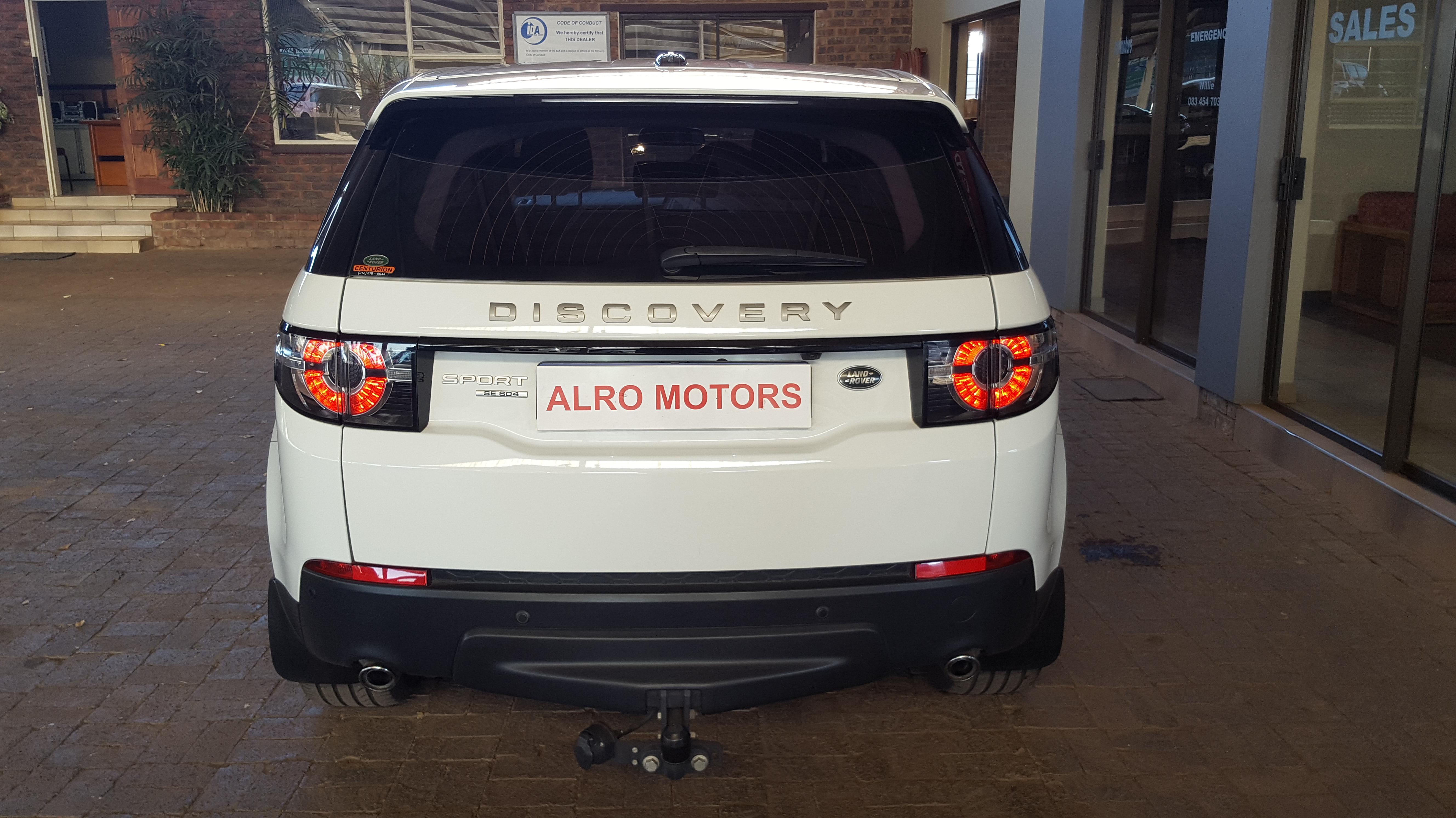 Landrover Discovery Sport 2.2 SD4 SE full